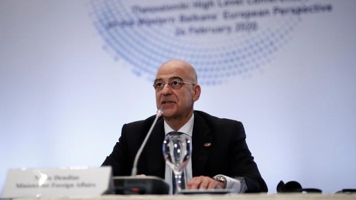 Ν. Δένδιας: Θέλουμε να δοθεί τον Μάρτιο ημερομηνία για Βόρεια Μακεδονία και Αλβανία