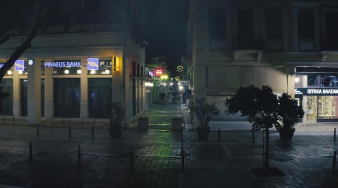 Η Καλαμάτα σε ατμόσφαιρα Χίτσκοκ… (video Πάνος Κουντάνης)