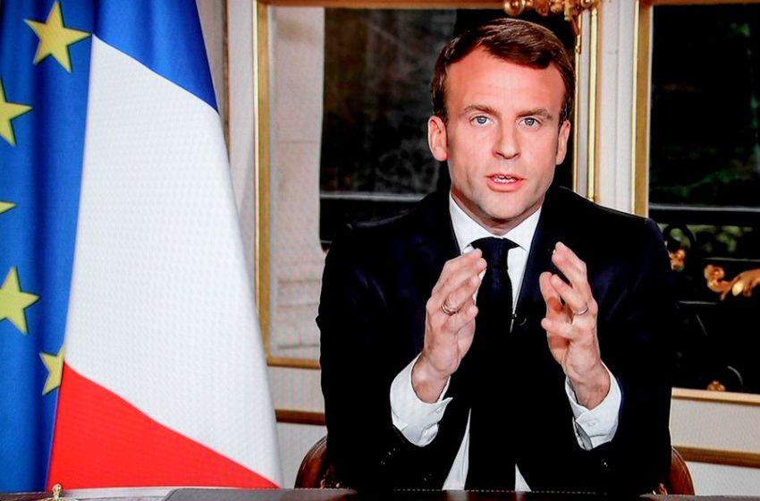 """Μακρόν στους Γάλλους: """"Θα ζούμε με τον ιό τουλάχιστον μέχρι τα μέσα του 2021 """""""