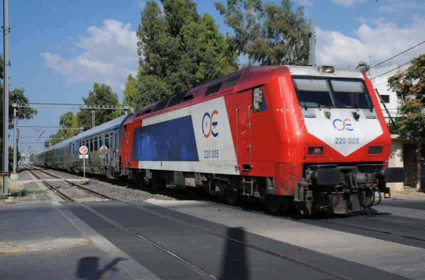 ΤΡΑΙΝΟΣΕ: Αναστέλλονται από την Παρασκευή δύο δρομολόγια στο «Θεσσαλονίκη-Αθήνα»
