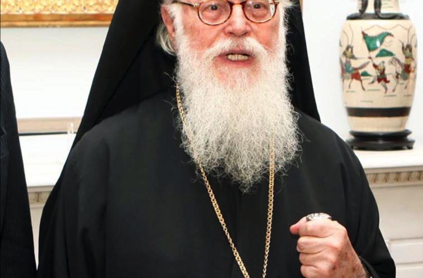 Αρχιεπίσκοπος Αναστάσιος: «Κρατάτε τις αναγκαίες αποστάσεις, πλησιάστε όμως μεταξύ σας πνευματικά»