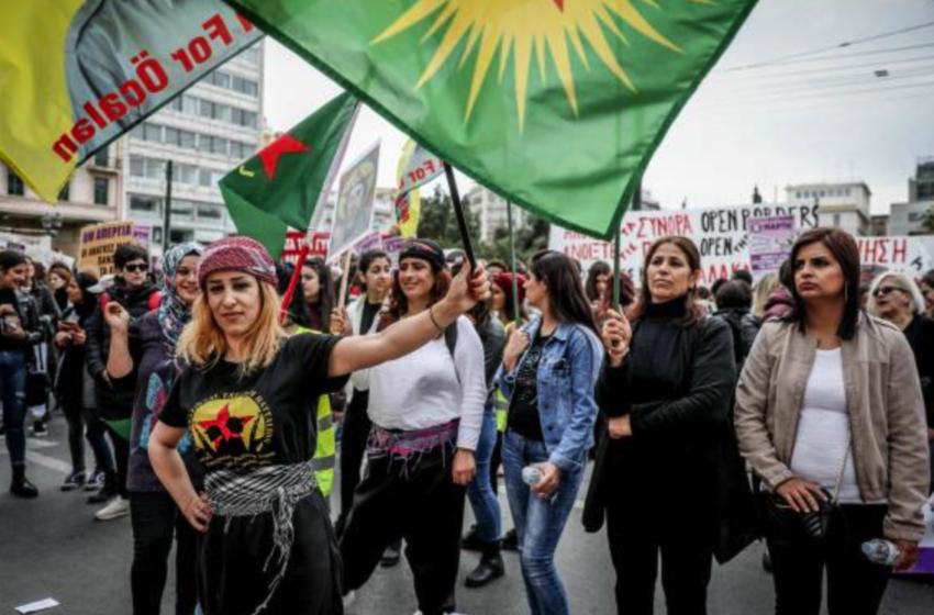 Μαζική συμμετοχή στην διαδήλωση για την ημέρα της γυναίκας