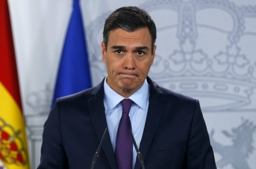 Ο Π. Σάντσεθ θέλει να παρατείνει την κατάσταση έκτακτης ανάγκης για έναν μήνα στην Ισπανία