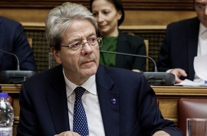 Προειδοποίηση Τζεντιλόνι: Κινδυνεύει το ευρωπαϊκό σχέδιο