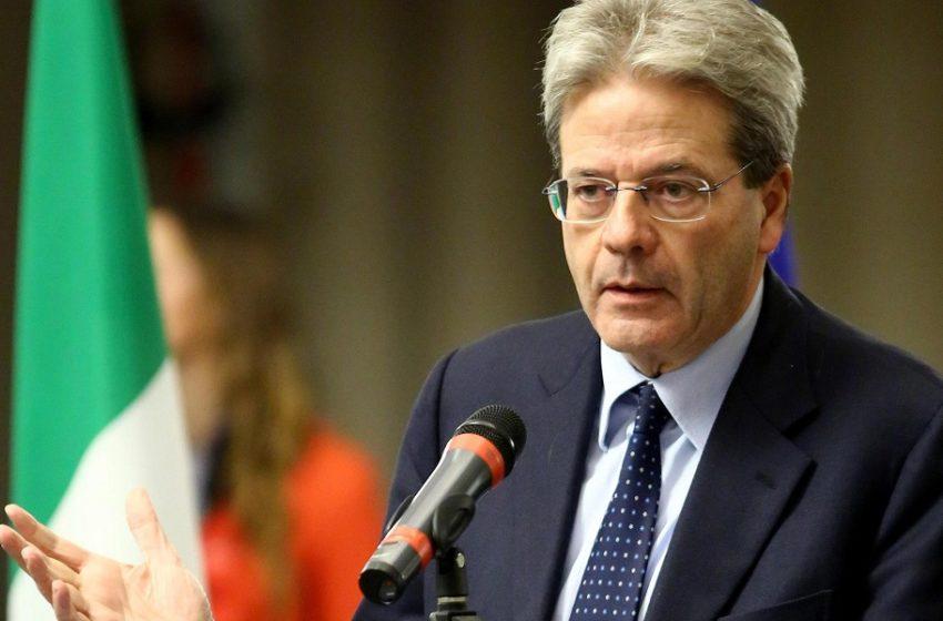 Υπέρ των ομολόγων κοροναϊού ο Ευρωπαίος επίτροπος Πάολο Τζεντιλόνι