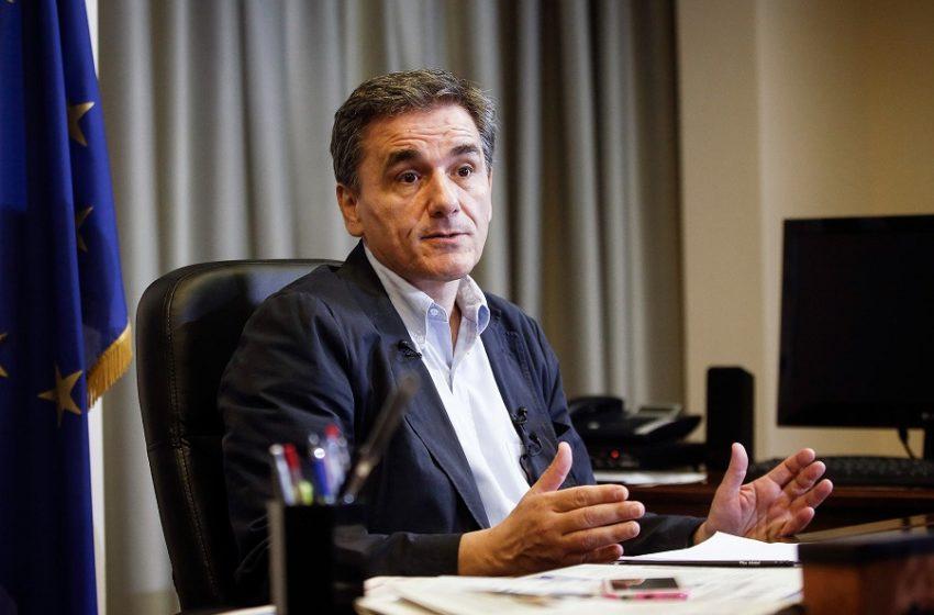 Ε. Τσακαλώτος: οι προβλέψεις Σταϊκούρα για την οικονομία είναι ελλειμματικές