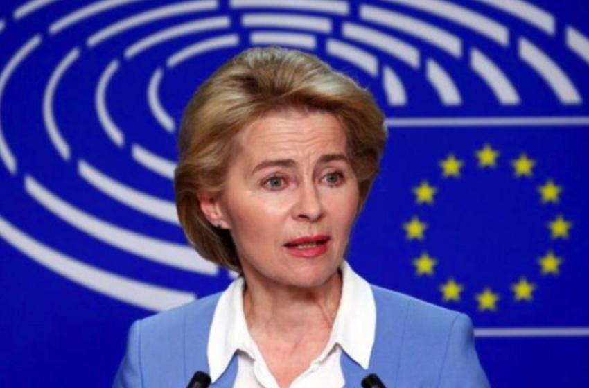Φον Ντερ Λάιεν: Έως τα τέλη Ιουνίου η ΕΕ θα λάβει 406 εκατ. δόσεις από τα τρία εγκεκριμένα εμβόλια
