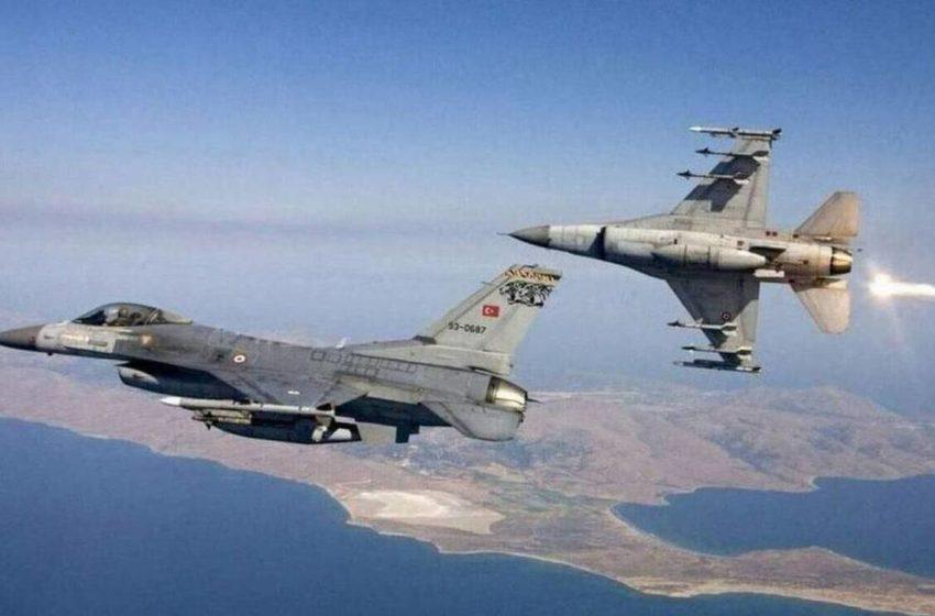 Νέες υπερπτήσεις τουρκικών F-16