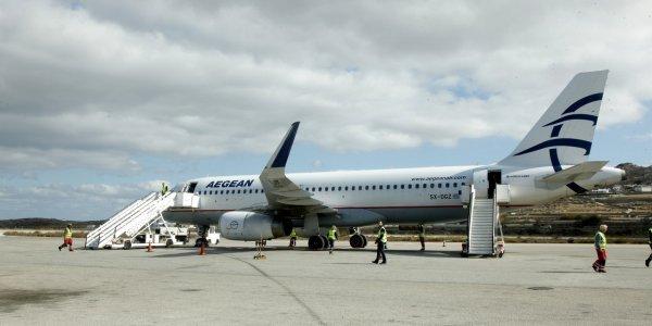 Σε συγχωνεύσεις πτήσεων προχωρεί η AEGEAN