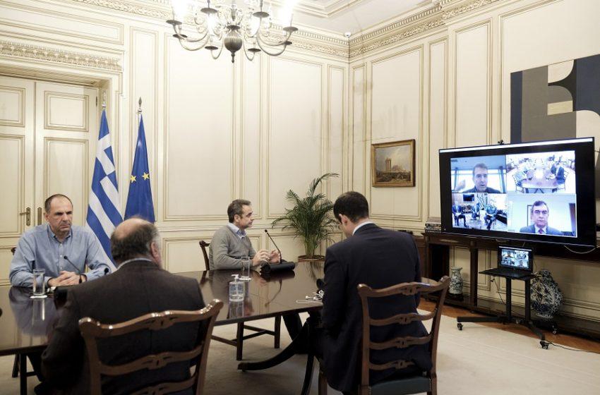 Έβρος: Έκτακτη τηλεσύσκεψη υπό τον Κυρ. Μητσοτάκη μετά τις τελευταίες εξελίξεις