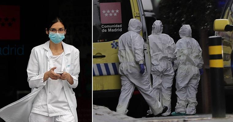 Ισπανία: Πάνω από 1000 νεκροί, στις 20.000 τα κρούσματα