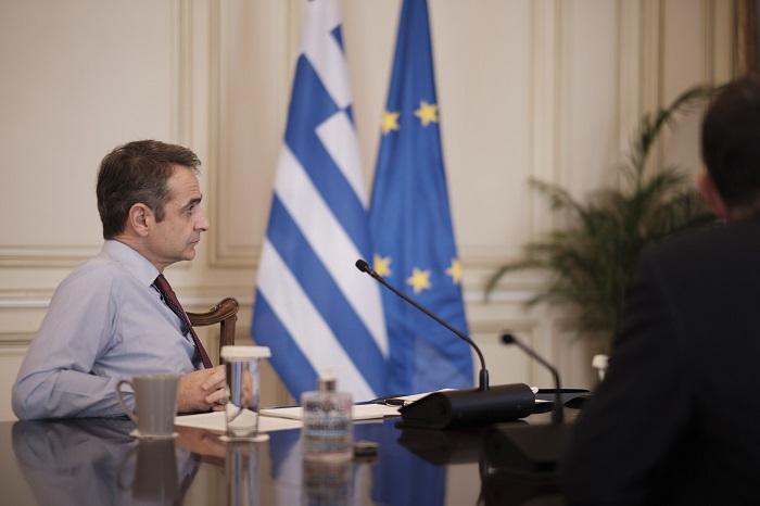 """Το """"ευχαριστώ"""" του πρωθυπουργού στους 'Eλληνες"""