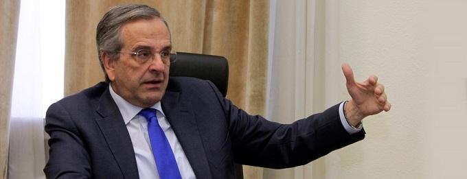 Αντ. Σαμαράς: Οι σχέσεις μου με τον Κυριάκο, είναι αυτές που πρέπει να είναι – Επίθεση σε Τσίπρα