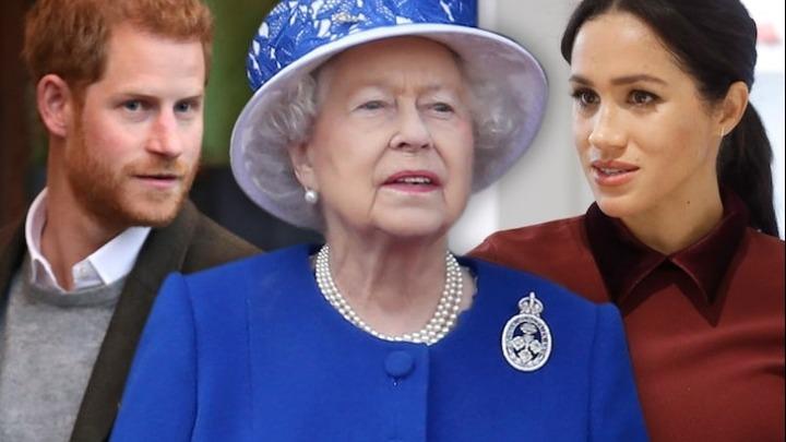 Ο πρίγκιπας Χάρι και η Μέγκαν μαζί με την Ελισάβετ!