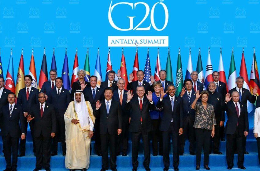 Οι ηγέτες της G20 για τον κοροναϊό: Θα το ξεπεράσουμε όλοι μαζί