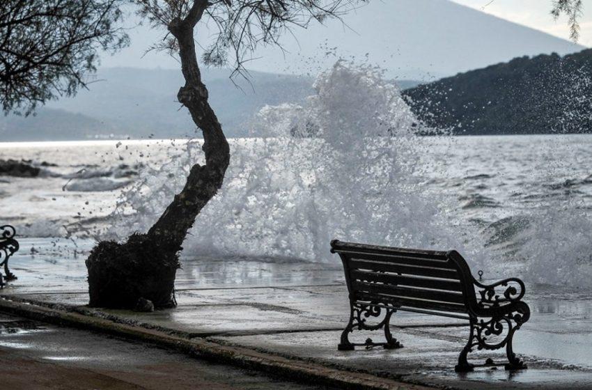 Επιστροφή του χειμώνα – Βροχές, κρύο, θυελλώδεις άνεμοι