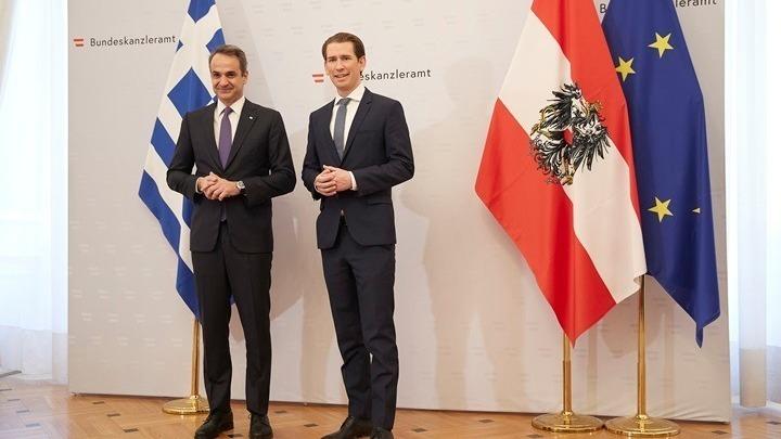 Μητσοτάκης: Ναι στη συνεργασία με την Τουρκία, αλλά με όρους δικαιοσύνης – Κουρτς: Ευχαριστώ την Ελλάδα… (vid)