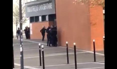 Κατάσταση ομηρίας σε γαλλικό πανεπιστήμιο (vid)
