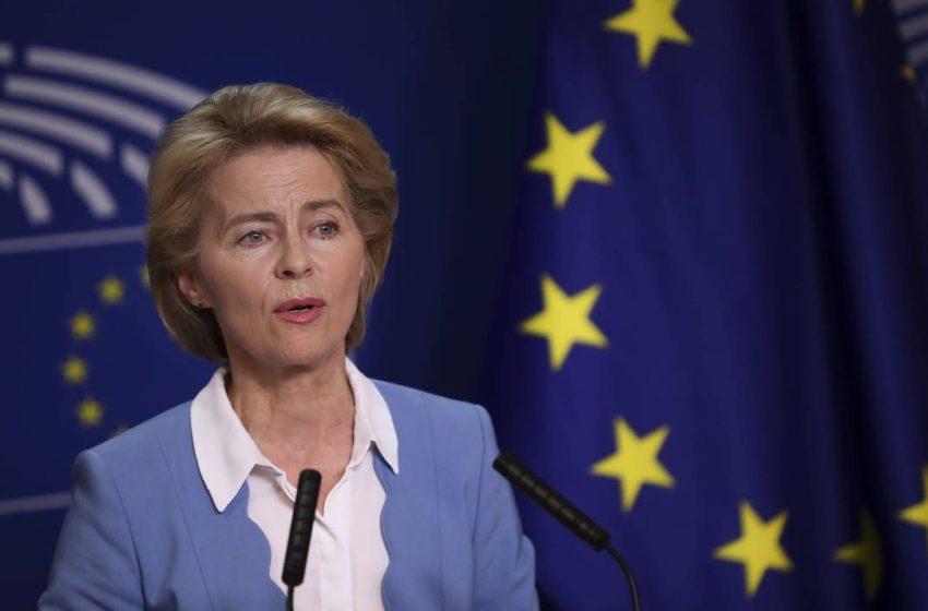 """Φον ντερ Λάιεν: Μήνυμα στα ελληνικά για τη δολοφονία Καραϊβάζ – """"Απεχθής και δειλή πράξη""""- Παρέμβαση και του προέδρου του ΕΚ"""