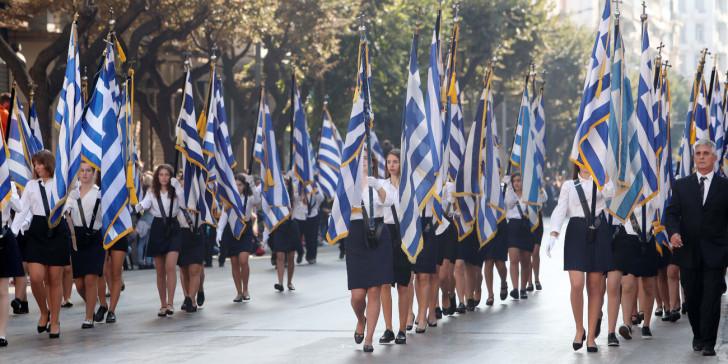 Ακυρώνονται οι μαθητικές και στρατιωτικές παρελάσεις της 25ης Μαρτίου