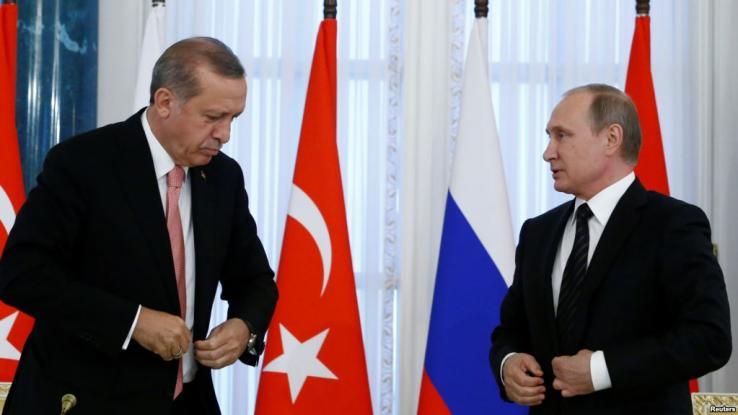 Επικοινωνία Πούτιν-Ερντογάν για Λιβύη και Συρία