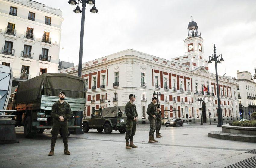 Τραγωδία δίχως τέλος στην Ισπανία – 812 νεκροί σε ένα 24ωρο, 7.340 συνολικά