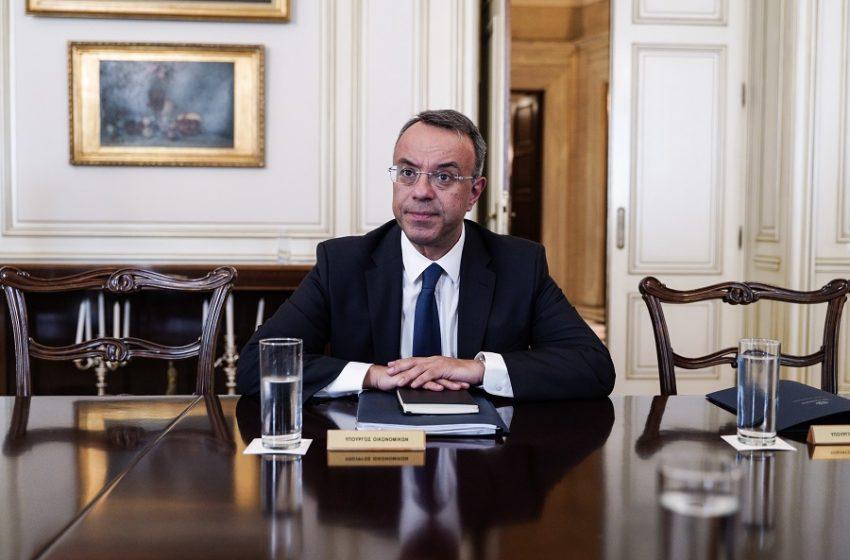 Χρ. Σταϊκούρας: Ένταξη σχεδόν όλων των επιχειρήσεων στα μέτρα – Ύφεση από 1% έως 3%