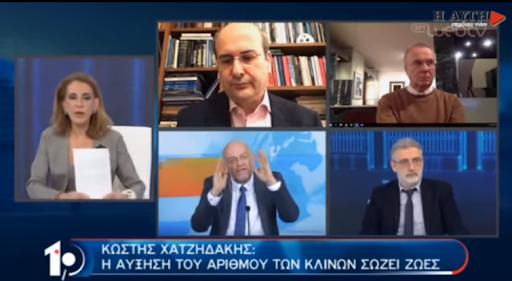 """Όταν ο """"εντατικολόγος"""" Ηλίας Κανέλης κατηγορεί την Όλγα Τρέμη και τον Γιάννη Μακρυγιάννη για… """"συριζαϊκό κοροναϊό""""! (vid)"""