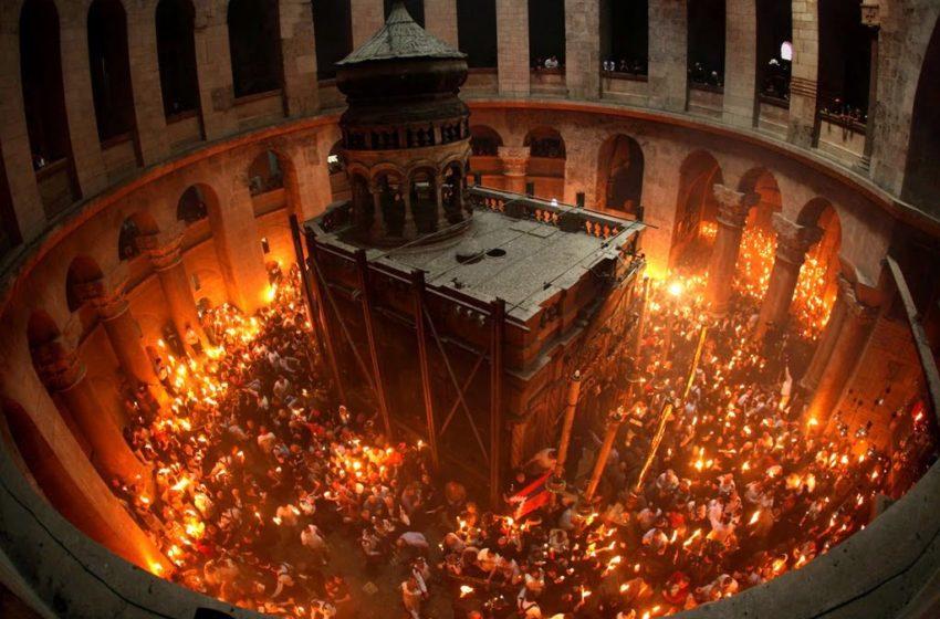 Έτσι θα έρθει το Άγιο Φως στην Ελλάδα (vid)