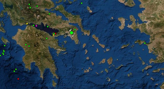 Σεισμός αναστάτωσε την Αθήνα – Γιατί η δόνηση 2,3 Ρίχτερ έγινε αισθητή