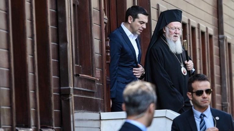 Επικοινωνία Τσίπρα – Βαρθολομαίου με αφορμή το Άγιο Πάσχα