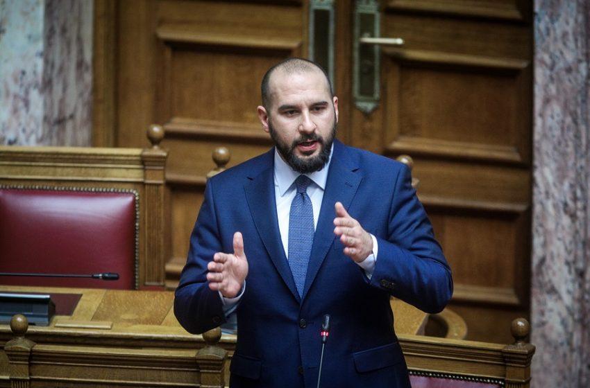 "Tζανακόπουλος: ""Ανεξόφλητο γραμμάτιο στους καναλάρχες η πρόταση Προανακριτικής για τον Παππά"""
