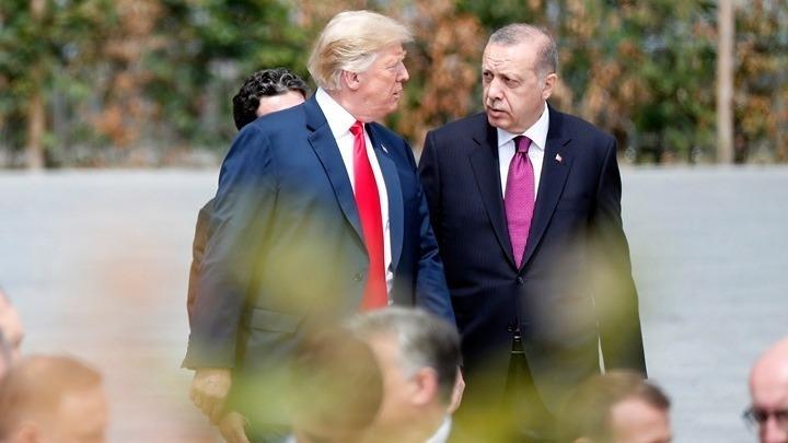 Συμφώνησαν Τράμπ – Ερντογάν για σταθερότητα στην Αν. Μεσόγειο