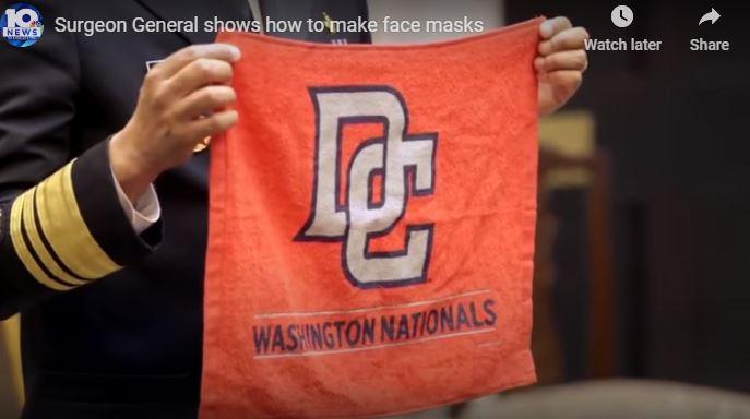 VIRAL: Ο αρχίατρος που δείχνει πώς να φτιάχνουμε υφασμάτινη μάσκα σε λίγα δευτερόλεπτα (βίντεο)