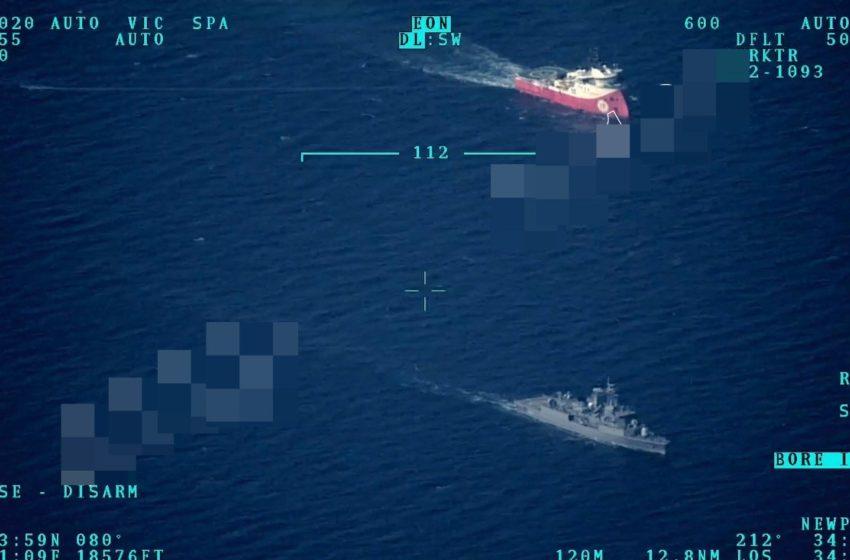 """Η Άγκυρα έβγαλε """"Μπαρμπαρός"""" στη Μεσόγειο και drones (εικόνες) – Υπερπτήσεις στο Αιγαίο"""