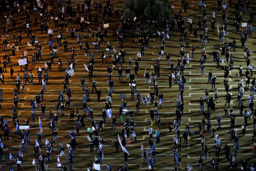 Τελ Αβίβ: Διαμαρτυρία για τα ελλιπή μέτρα Νετανιάχου
