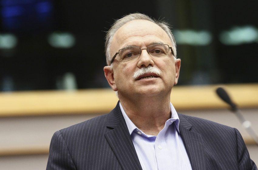Παπαδημούλης: Η Ελλάδα θα πάρει 1,63 δισ. λιγότερες επιχορηγήσεις από το Ταμείο Ανάκαμψης