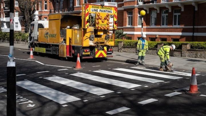 Η διάβαση Abbey Road ξαναβρήκε το χρώμα της