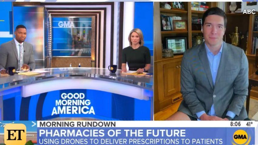Δημοσιογράφος του ABC βγήκε στο «Good Morning America» χωρίς παντελόνι