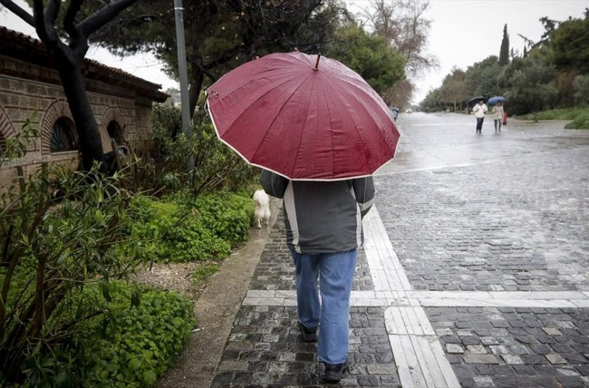 Κακοκαιρία με βροχές, καταιγίδες και ανέμους έως 10 μποφόρ