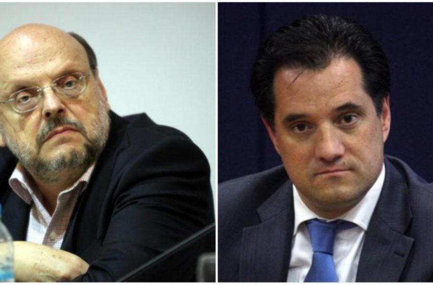 Αντώναρος για Γεωργιάδη: Αυτός ο κύριος εξακολουθεί να είναι υπουργός; – Α. Γεωργιάδης: Με ζηλεύεις…