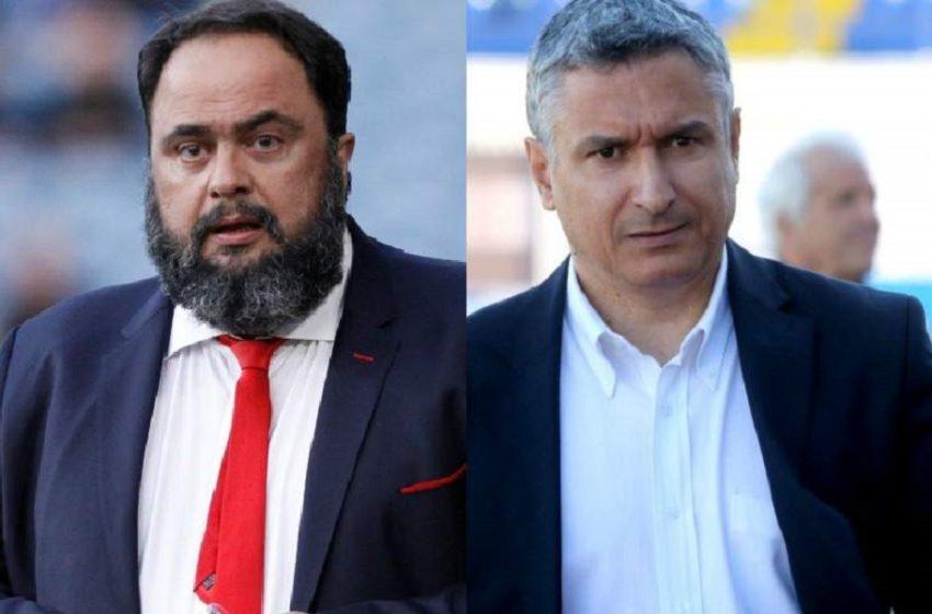 """Εισήγηση """"βόμβα"""" στο ποδόσφαιρο: Υποβιβασμό για Ολυμπιακό – Ατρόμητο, ισόβιο αποκλεισμό για Μαρινάκη – Σπανό"""