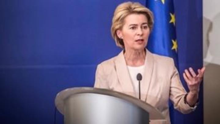 """Φον ντερ Λάιεν: Ο επόμενος προϋπολογισμός της ΕΕ """"κλειδί"""" για την έξοδο από την κρίση"""