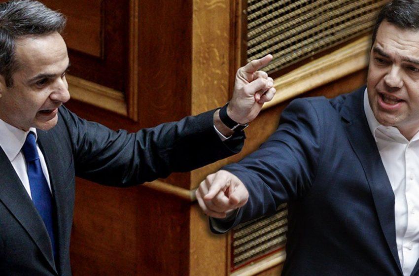 """Ο Τσίπρας ρίχνει το γάντι στη Βουλή για το """"μαξιλάρι"""" – Η απάντηση Μητσοτάκη και ο… αδύναμος κρίκος"""