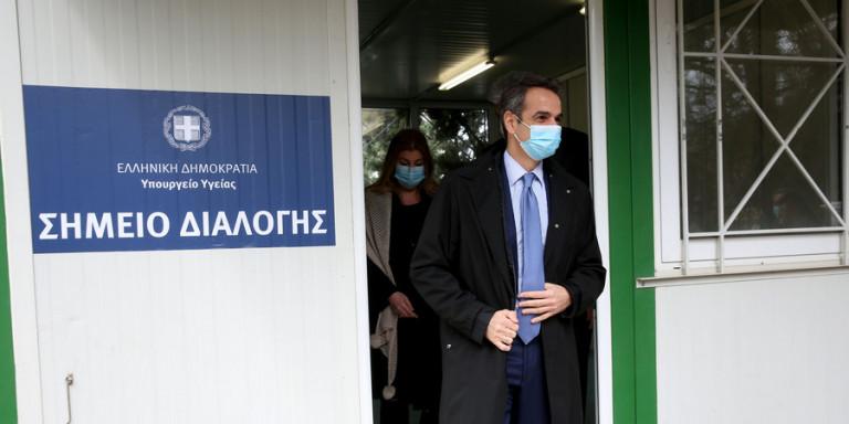 """Επίσκεψη του πρωθυπουργού στο """"Σωτηρία"""" (εικόνες)"""