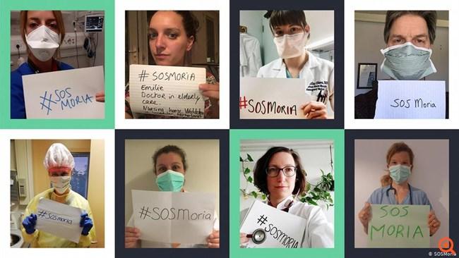 #SOSMoria – Σήμα κινδύνου για πανδημία στη Μόρια