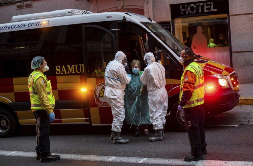 Ισπανία: 637 νεκροί το τελευταίο 24ωρο – Σχετική μείωση