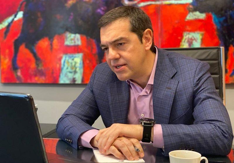 Ο Αλέξης Τσίπρας στο κεντρικό δελτίο ειδήσεων του Kontra