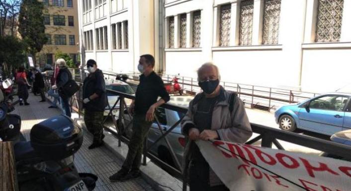 Συγκέντρωση διαμαρτυρίας των ανθρώπων του Πολιτισμού στο Σύνταγμα