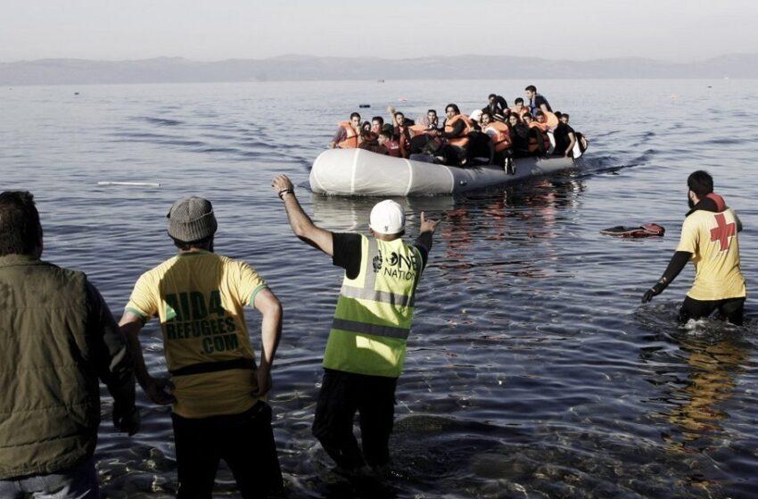 Σε καραντίνα 14 ημερών πρόσφυγες και μετανάστες που έφτασαν στη Λέσβο